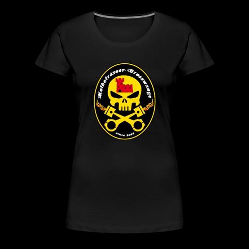 Kolbefrässer - Frauen Premium T-Shirt
