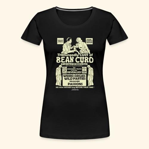 Vegan Tofu T Shirt Design Bean Curd - Frauen Premium T-Shirt