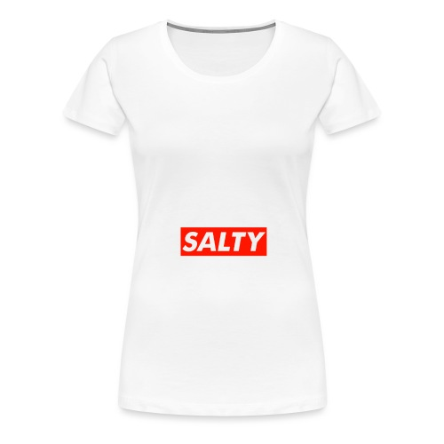 Salty white - Women's Premium T-Shirt