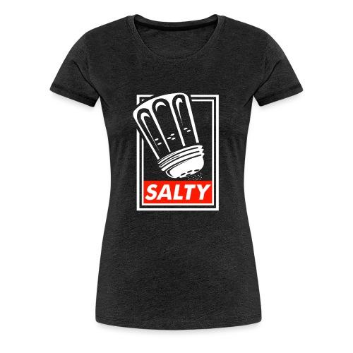 Salty white - Women's Premium T-Shirt