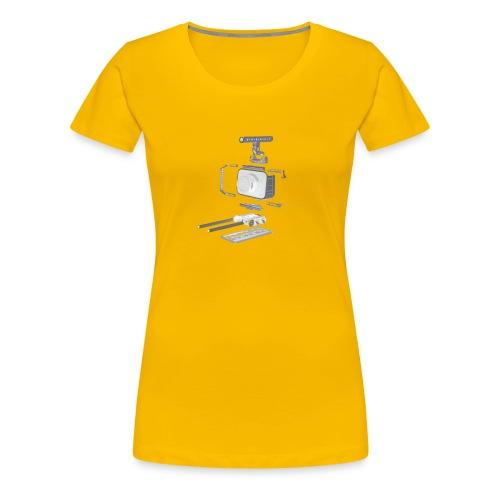 VivoDigitale t-shirt - Blackmagic - Maglietta Premium da donna