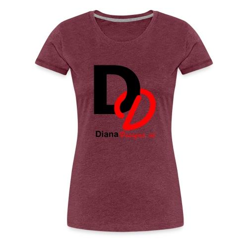 logo_diana_designs-nl - Vrouwen Premium T-shirt