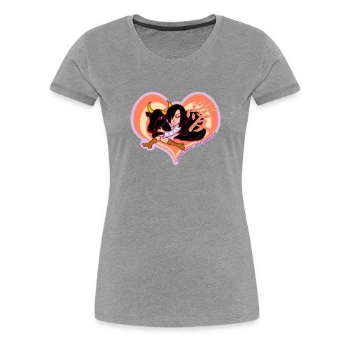 Girl and Ox (Love) - Women's Premium T-Shirt