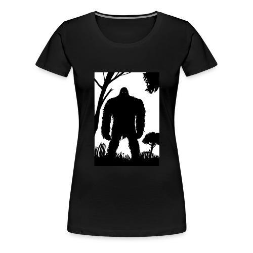 Mystery Hominid - Women's Premium T-Shirt