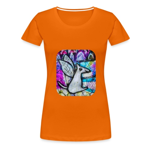 blissful doggie adjusted - Women's Premium T-Shirt