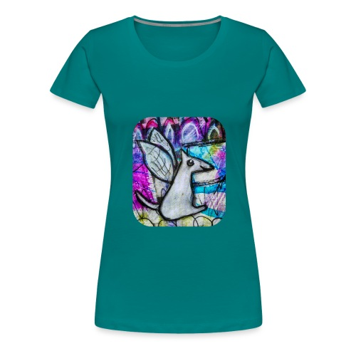 blissful doggie adjusted - Women's Premium T-Shirt