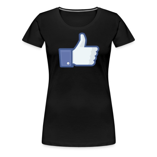 Facebook like thumb png - Dame premium T-shirt
