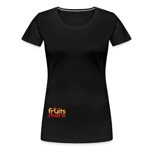 fruitsmore logo - Frauen Premium T-Shirt