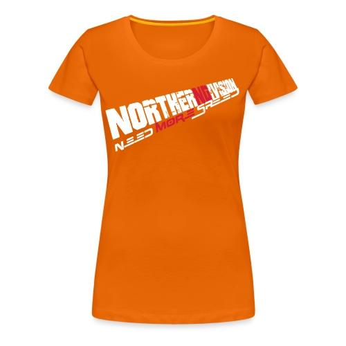 nd badg 2vari perspective - Naisten premium t-paita