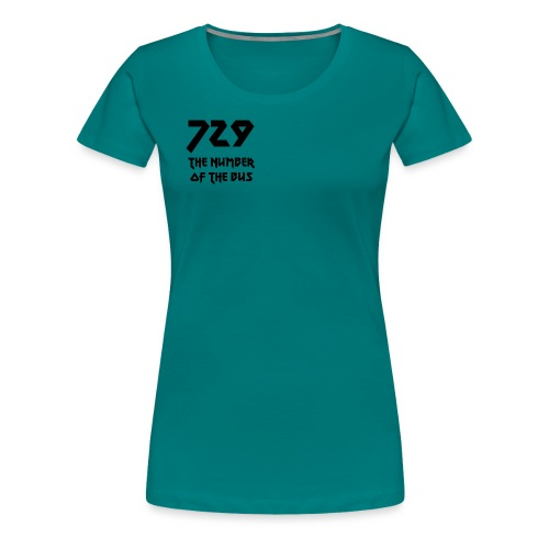 729 grande nero - Maglietta Premium da donna