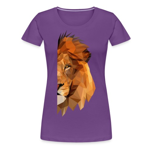LION - MINIMALISTE - T-shirt Premium Femme