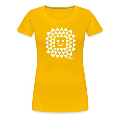 Sun Flower - T-shirt Premium Femme