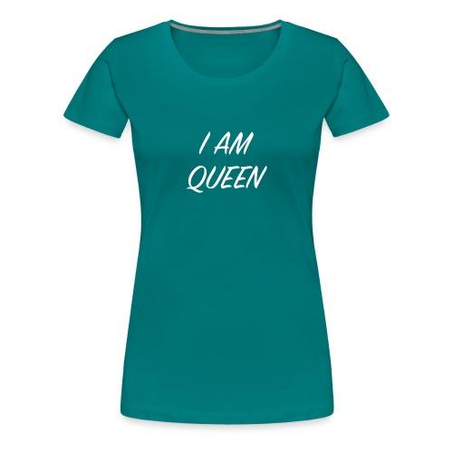 Queen blanc - T-shirt Premium Femme