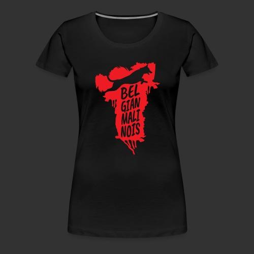 Belgian Malinois JUMP - Women's Premium T-Shirt