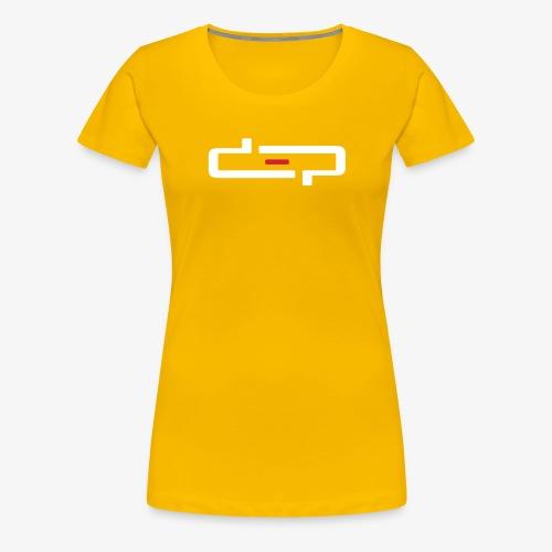 deplogo1neg red - Premium T-skjorte for kvinner