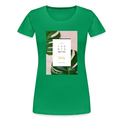 Tassony manifesto - canotta - Maglietta Premium da donna