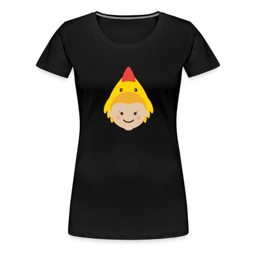 Lola the Chicken | Ibbleobble - Women's Premium T-Shirt