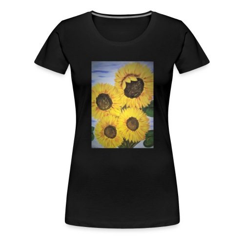 SonnenblumeIMG 20180815 090758 - Frauen Premium T-Shirt