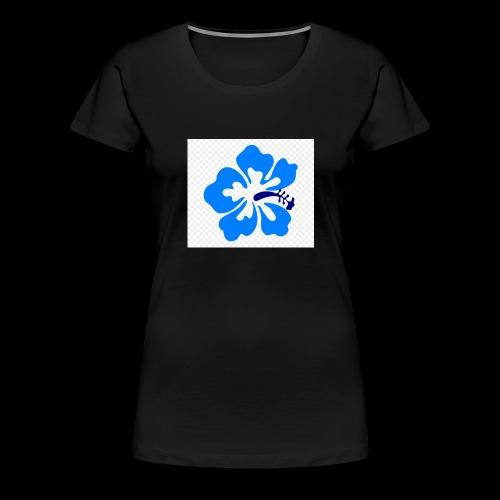 hawaiian flower - Women's Premium T-Shirt