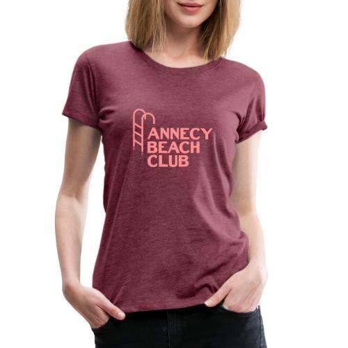 Annecy beach club - natation - T-shirt Premium Femme