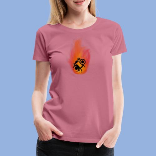 Should I stay or should I go Fire - T-shirt Premium Femme