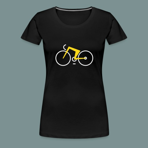 Bikes against cancer - Dame premium T-shirt