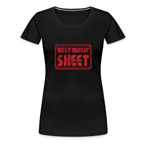 Best Music Sheet Logo 2 - T-shirt Premium Femme