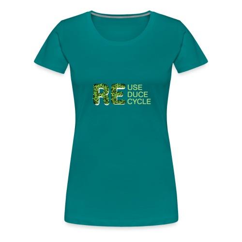 REuse REduce REcycle - Maglietta Premium da donna