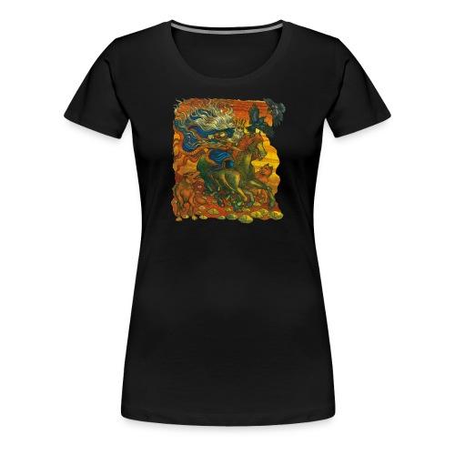 Oden - Premium-T-shirt dam