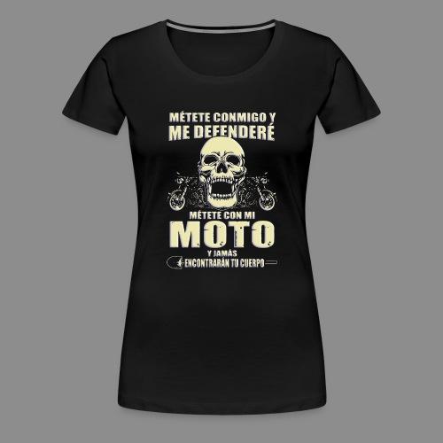 Me defenderé - Camiseta premium mujer