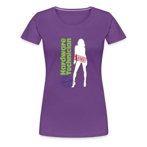 Hardware Technician - Maglietta Premium da donna