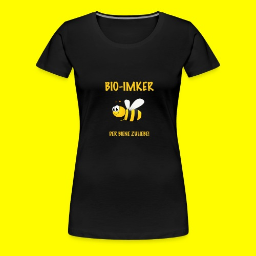 Bio Imker - Frauen Premium T-Shirt