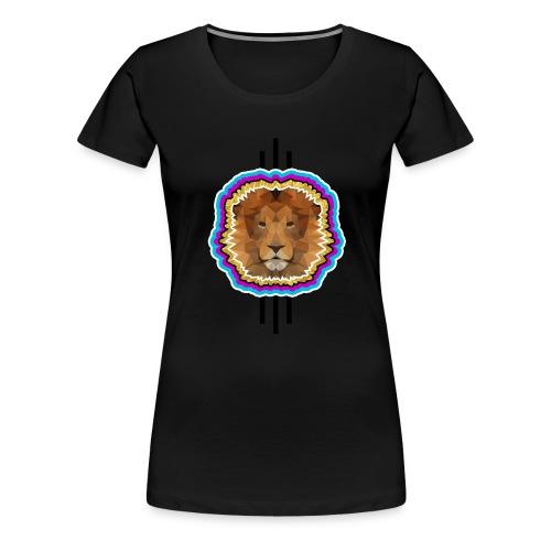 brave lion png - Frauen Premium T-Shirt