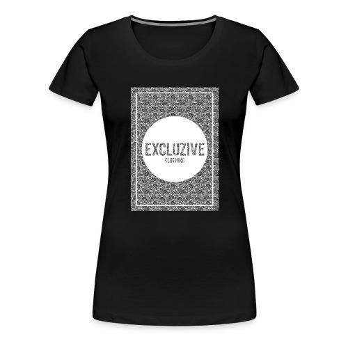 B-W_Design Excluzive - Women's Premium T-Shirt