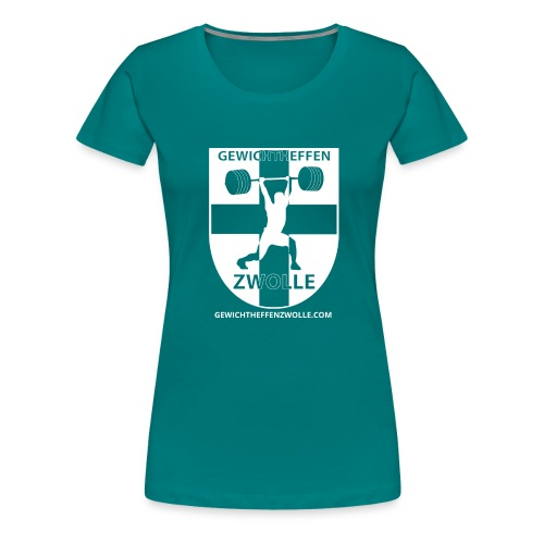 Bestsellers Gewichtheffen Zwolle - Vrouwen Premium T-shirt