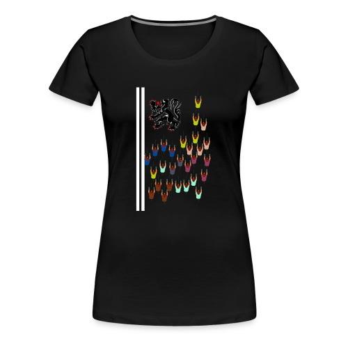 Flandern Vlaanderen - Frauen Premium T-Shirt