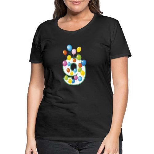 nono compleanno 9 anni - Maglietta Premium da donna