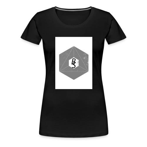 BS logo - Premium T-skjorte for kvinner