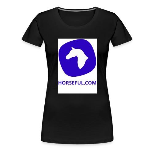 Horseful.com - Logo - Frauen Premium T-Shirt