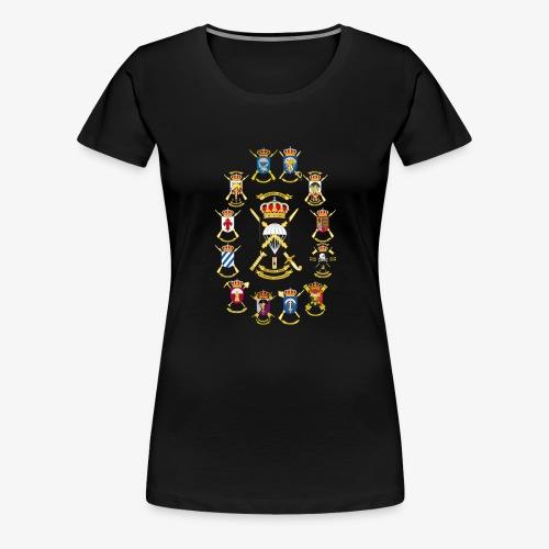 UNIDADES BRIPAC - Camiseta premium mujer