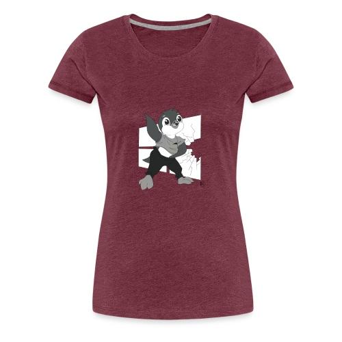 Le pingouin de Nice - T-shirt Premium Femme