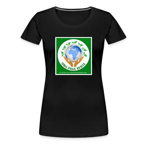sac bio - T-shirt Premium Femme