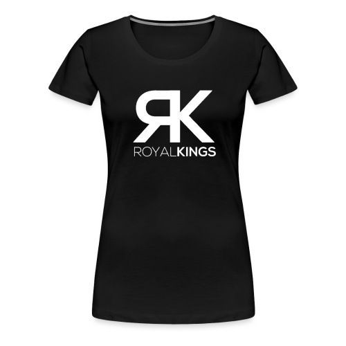 Royalkings Wit Transparan - Vrouwen Premium T-shirt