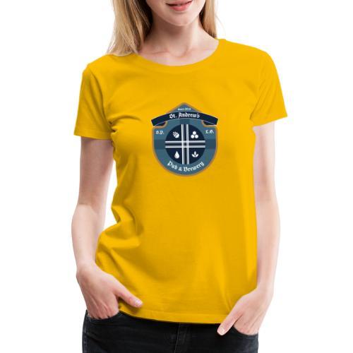 St Andrews T-Shirt - Maglietta Premium da donna