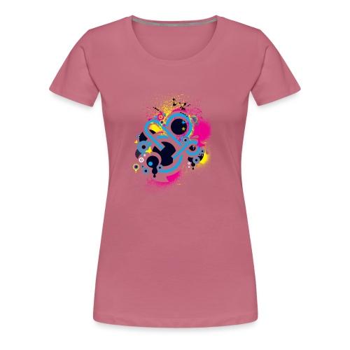 d3scene t shirt design front o by ezacx d3924g1 p - Vrouwen Premium T-shirt