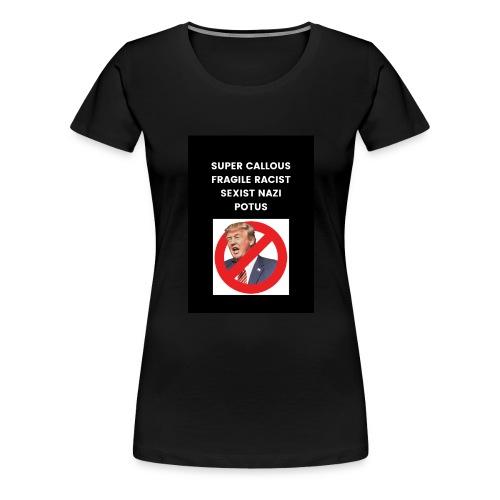 Poppins against Trump - Women's Premium T-Shirt