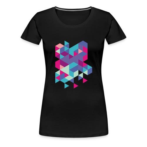 Dreiecke - Frauen Premium T-Shirt