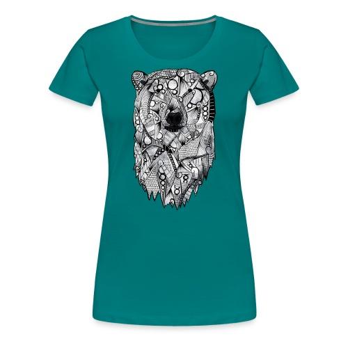 Isbjørn - Premium T-skjorte for kvinner
