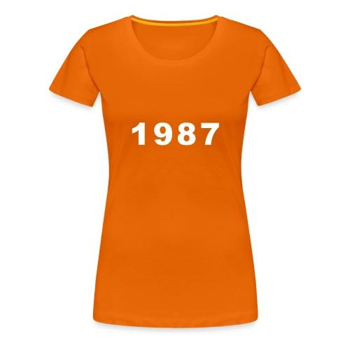 1987 - Vrouwen Premium T-shirt