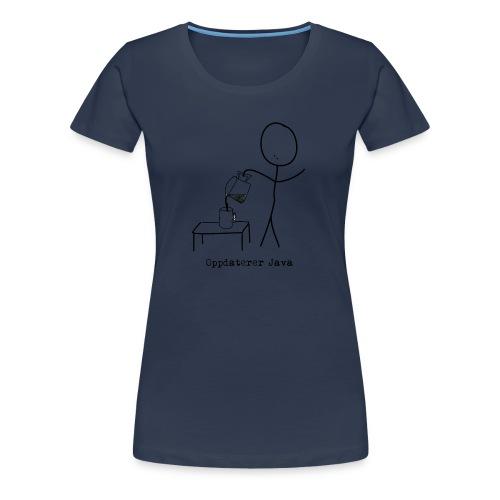 java2 - Premium T-skjorte for kvinner